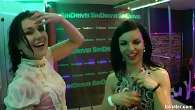 Wino lesbians public dancing
