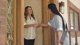 Maid and habitation owner having lesbian sex - Elexis Monroe & Texas Patti